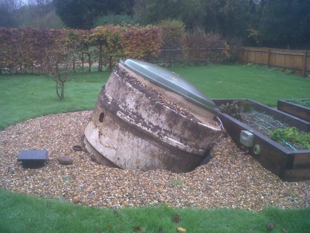 Blog rain affecting septic tank
